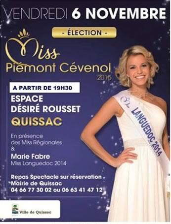 Election Miss Piemont Cévenol