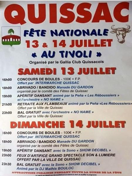 Fête Nationale Quissac